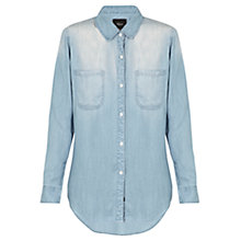Buy Rails Carter Vintage Denim Shirt, Vintage Navy Online at johnlewis.com