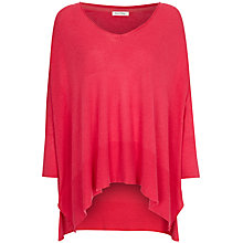 Buy American Vintage V Neck Jumper, Raspberry Cake, One Size Online at johnlewis.com