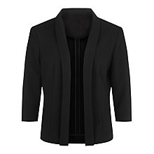 Buy Planet Unlined Jacket, Black Online at johnlewis.com