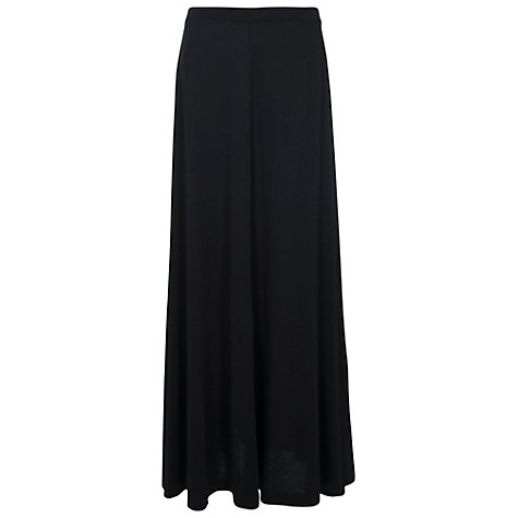 buy french connection golden maxi flared skirt black. Black Bedroom Furniture Sets. Home Design Ideas