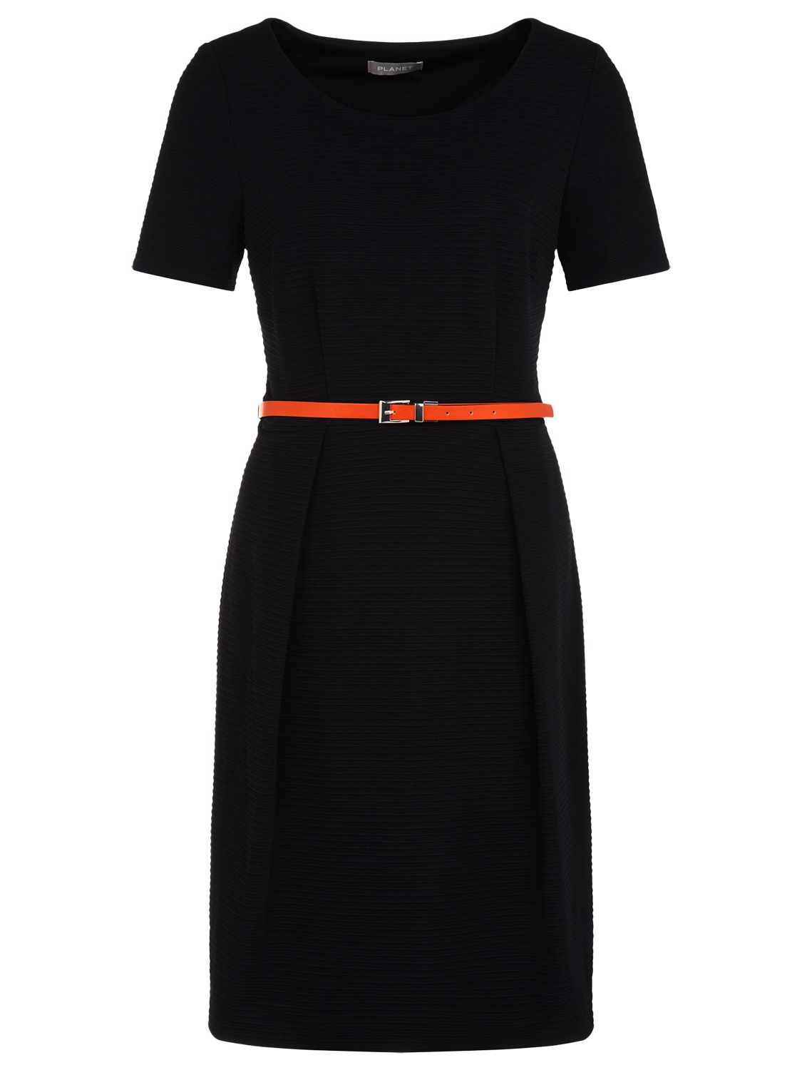 planet rib detail belted dress black, planet, rib, detail, belted, dress, black, 10|16|18|12|14|8|20, women, plus size, womens dresses, special offers, womenswear offers, latest reductions, womens dresses offers, 1831317