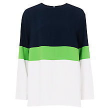 Buy French Connection Edward Block Tunic Top, Multi Online at johnlewis.com