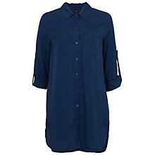 Buy French Connection Shirt Dress, Prussian Blue Online at johnlewis.com