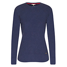 Buy Barbour Daisy Crew Knit Jumper, Red Sky Online at johnlewis.com