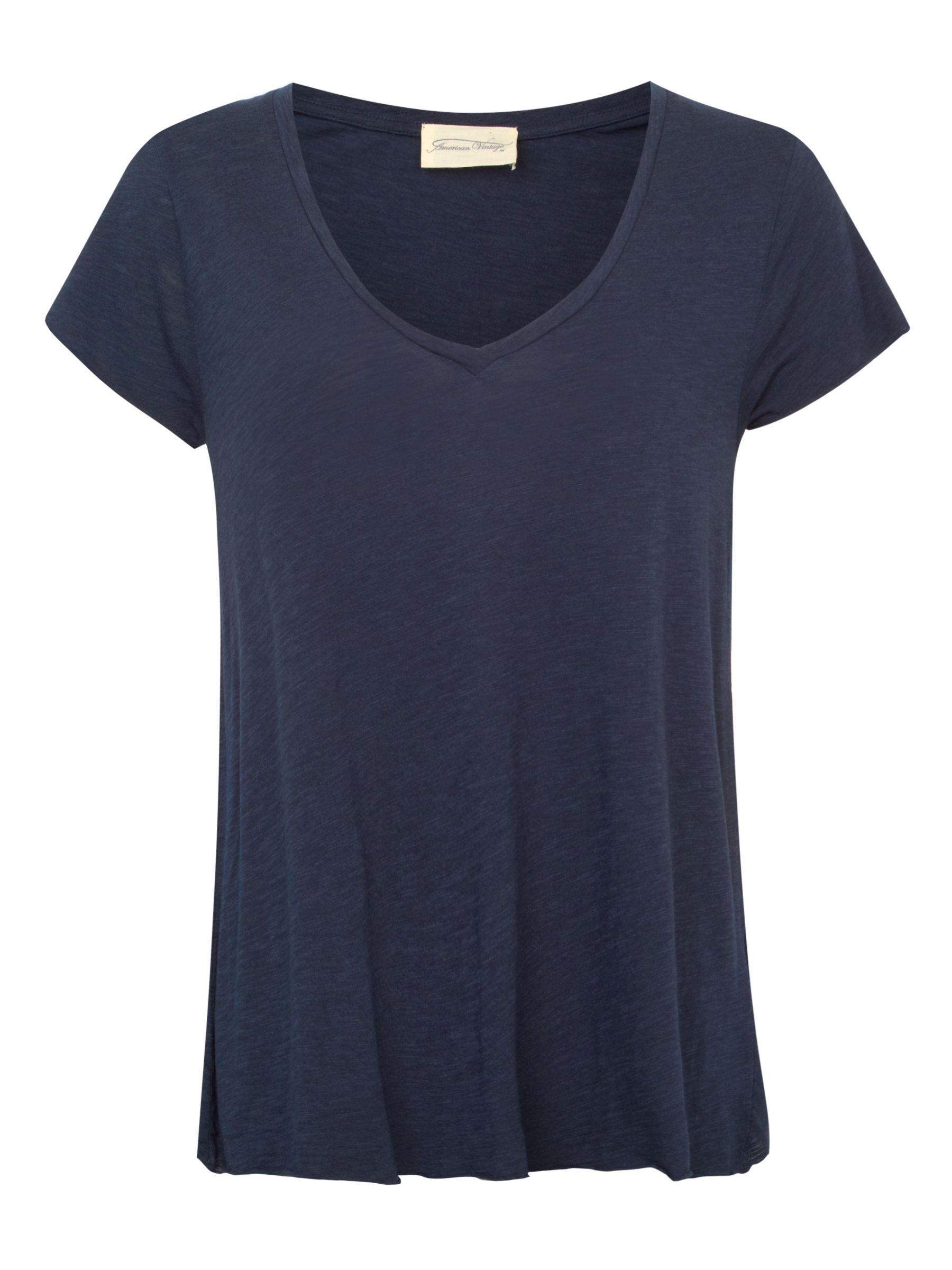 American vintage American Vintage Jacksonville V-Neck T-Shirt
