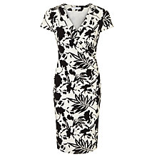 Buy COLLECTION by John Lewis Isabella Jersey Dress, Black/White Online at johnlewis.com