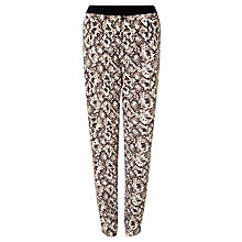 Buy Gerry Weber Abstract Animal Print Trousers, Multi Online at johnlewis.com