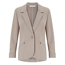 Buy John Lewis Capsule Collection Pointelle Jacket, Zinc Online at johnlewis.com