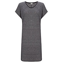 Buy Kin by John Lewis Stripe Linen Dress, Navy/White Online at johnlewis.com