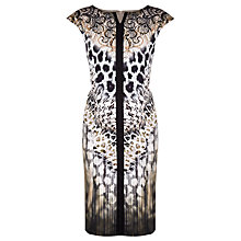 Buy Gerry Weber Animal Print Dress, Multi Online at johnlewis.com