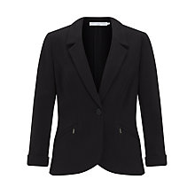 Buy John Lewis Capsule Collection Ponte Jacket,  Black Online at johnlewis.com