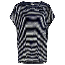 Buy Kin by John Lewis Stripe Linen Top Online at johnlewis.com