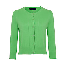 Buy French Connection Spring Bambino Cardigan, Astro Green Online at johnlewis.com