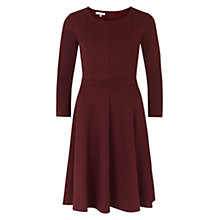 Buy Hobbs Katey Dress, Berry Online at johnlewis.com