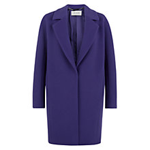 Buy Hobbs Lacey Coat, Purple Online at johnlewis.com