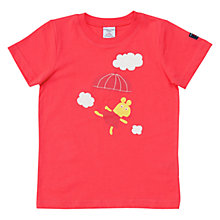 Buy Polarn O. Pyret Children's Animal Motif T-Shirt, Pink Online at johnlewis.com