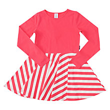 Buy Polarn O. Pyret Girls' Stripe Flared Dress Online at johnlewis.com
