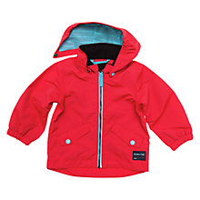 Buy Polarn O. Pyret Baby Waterproof Coat, Red Online at johnlewis.com