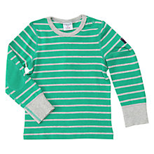 Buy Polarn O. Pyret Baby's Striped Top Online at johnlewis.com