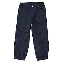Buy Polarn O. Pyret Children's Cargo Trousers, Navy Online at johnlewis.com