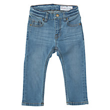 Buy Polarn O. Pyret Baby Slim Denim Jeans, Denim Online at johnlewis.com