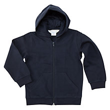 Buy Polarn O. Pyret Children's Hoodie, Navy Online at johnlewis.com
