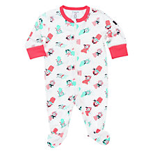 Buy Polarn O. Pyret Baby Printed Sleepsuit Online at johnlewis.com