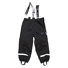 Buy Polarn O. Pyret Children's Waterproof Trousers, Black Online at johnlewis.com