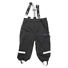 Buy Polarn O. Pyret Baby Waterproof Trousers, Black Online at johnlewis.com