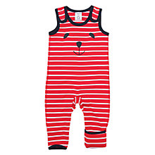 Buy Polarn O. Pyret Baby Striped Romper Online at johnlewis.com