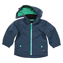 Buy Polarn O. Pyret Baby Waterproof Coat, Navy Online at johnlewis.com