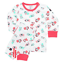 Buy Polarn O. Pyret Children's Print Pyjamas Online at johnlewis.com