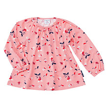Buy Polarn O. Pyret Baby Fun Print Long Sleeve Top Online at johnlewis.com