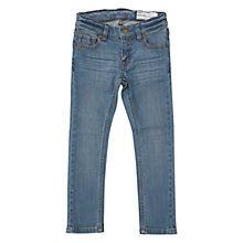Buy Polarn O. Pyret Children's Slim Jeans, Blue Online at johnlewis.com