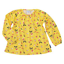 Buy Polarn O. Pyret Girls' Fun Print Long Sleeve Top Online at johnlewis.com