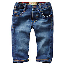 Buy Levi's Baby's Classic Denim Jeans, Navy Online at johnlewis.com