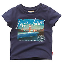 Buy Levi's Baby San Franciso T-Shirt, Navy Online at johnlewis.com