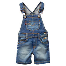 Buy Levi's Baby Bib Short Dungarees, Denim Online at johnlewis.com