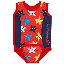 Buy Konfidence Starfish Swimsuit Babywarmer, Red Online at johnlewis.com