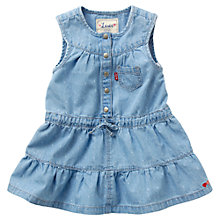 Buy Levi's Baby Tier Dress, Denim Online at johnlewis.com
