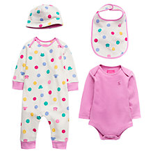 Buy Baby Joule Bundle of Joy Blossom Gift Set, Pink/Cream Online at johnlewis.com