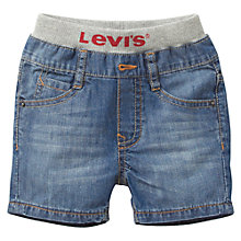 Buy Levi's Baby Rib Waist Shorts, Denim Online at johnlewis.com