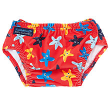 Buy Konfidence Starfish Aqua Nappy, Blue Online at johnlewis.com