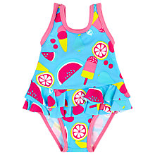 Buy John Lewis Ice Lolly Print Swimsuit, Blue/Multi Online at johnlewis.com