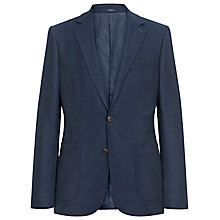 Buy Reiss Muller B Fleck Weave Blazer, Navy Online at johnlewis.com