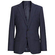 Buy Reiss Avenger B Slim Fit Checked Suit Jacket, Navy Online at johnlewis.com