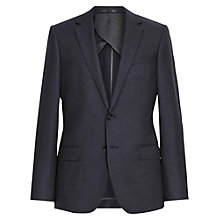 Buy Reiss Earle B Slim Fit Pin Dot Suit Jacket, Navy Online at johnlewis.com