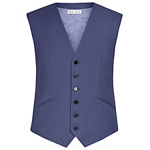 Buy Reiss Garth Tailored Classic Waistcoat, Bright Blue Online at johnlewis.com