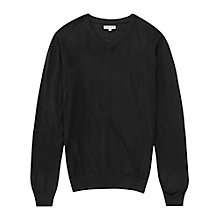 Buy Reiss Enigma Merino Wool V-Neck Jumper Online at johnlewis.com