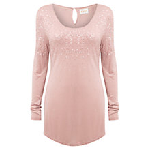 Buy East Sequin Jersey Top Online at johnlewis.com